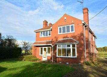 Thumbnail 4 bed detached house to rent in South Duffield Road, Osgodby, Selby
