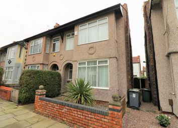 Thumbnail 3 bed semi-detached house to rent in St. Nicholas Road, Wallasey