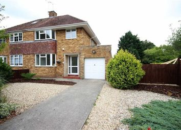 Thumbnail 3 bedroom semi-detached house for sale in Hillary Close, Swindon, Wiltshire