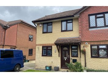 Thumbnail 3 bed semi-detached house for sale in Rowan Close, Wareham