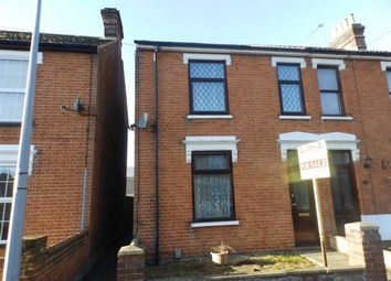 Thumbnail 3 bed semi-detached house for sale in Khartoum Road, Ipswich, Suffolk