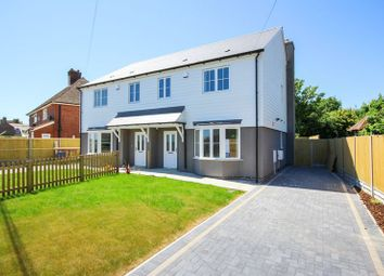 Thumbnail 3 bed semi-detached house for sale in Jubilee Road, Worth, Deal