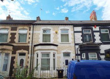 Thumbnail 3 bedroom terraced house for sale in Swinton Street, Cardiff, Caerdydd
