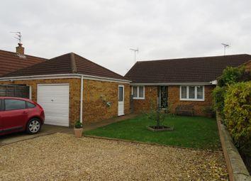 Thumbnail 2 bed semi-detached bungalow for sale in Pebble Close, Sutton Bridge, Spalding