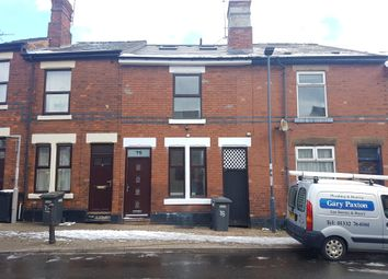 Thumbnail 5 bed terraced house for sale in Wild Street City Centre (University Area), Derby