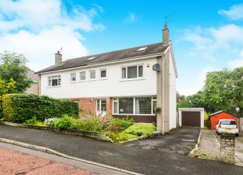 Thumbnail 4 bed semi-detached house for sale in Kippen Drive, Busby, Glasgow