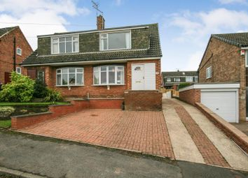Thumbnail 3 bed semi-detached house for sale in Hillside Avenue, Dronfield, Derbyshire