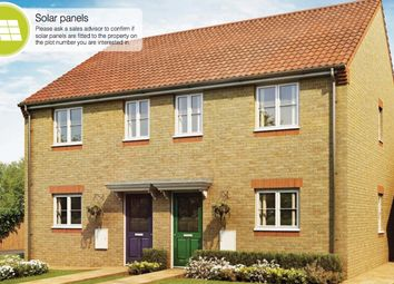 Thumbnail 3 bed terraced house for sale in Main Road, Barleythorpe, Oakham
