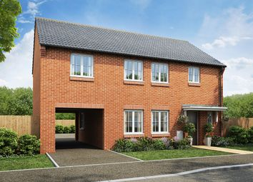 "Thumbnail 4 bed detached house for sale in ""The Twickenham"" at West Cross Lane, Mountsorrel, Loughborough"