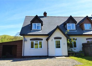 Thumbnail 3 bed semi-detached house to rent in Dolfach, Llanbrynmair, Powys