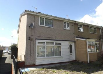 Thumbnail 3 bed end terrace house for sale in St Aidans Walk, Newton Aycliffe, Durham