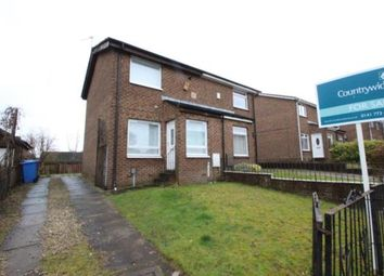 Thumbnail 2 bed semi-detached house for sale in Newbattle Road, Fullerton Park, Glasgow
