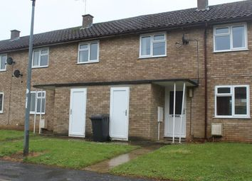 Thumbnail 2 bedroom terraced house to rent in Jefferson Close, Wittering, Peterborough