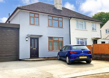 3 bed semi-detached house for sale in Walsh Crescent, New Addington, Croydon, Surrey CR0