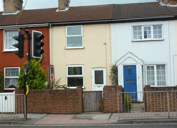 Thumbnail 2 bed terraced house to rent in Bridge Road, Oulton Broad, Lowestoft