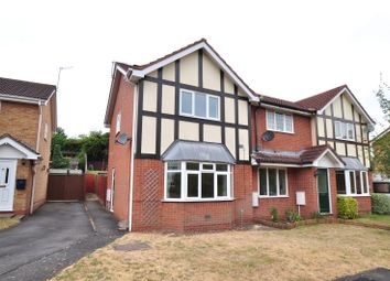 Thumbnail 2 bed end terrace house to rent in Tagwell Close, Droitwich Spa