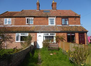 Thumbnail 2 bed terraced house for sale in Burnthouse Lane, Toft Monks, Beccles