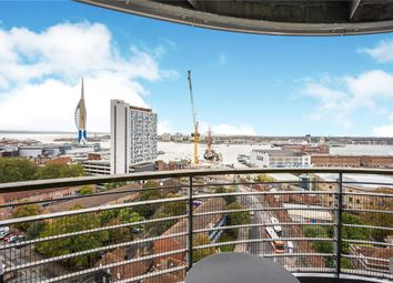 Thumbnail 2 bed flat for sale in Admiralty Tower, Queen Street, Portsmouth