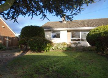 Thumbnail 3 bedroom bungalow for sale in Bernham Road, Hellesdon, Norwich