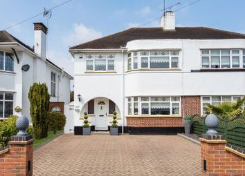 Thumbnail 3 bedroom semi-detached house for sale in Woodgrange Drive, Southend-On-Sea