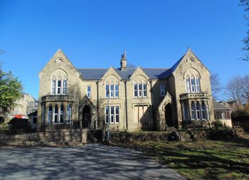 Thumbnail 1 bed block of flats to rent in Oxford Road, Dewsbury