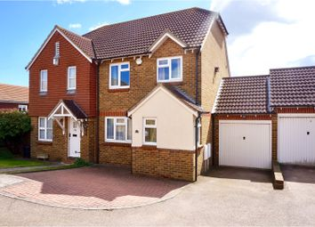 Thumbnail 3 bed semi-detached house for sale in Grandsire Gardens, Rochester