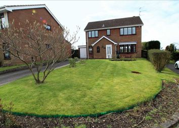 Thumbnail 4 bed detached house for sale in Fareham Grove, Lightwood, Stoke On Trent