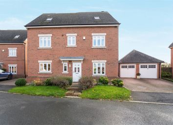 Thumbnail 5 bed detached house for sale in Millfield, Holt, Wrexham