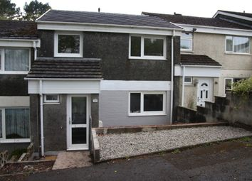 Thumbnail 3 bed terraced house to rent in Gorsey Close, Plymouth