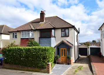 Thumbnail 3 bed semi-detached house for sale in Heathwood Gardens, Swanley, Kent