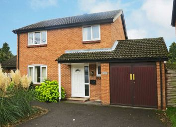 Thumbnail 4 bed link-detached house for sale in Plympton Close, Earley, Reading
