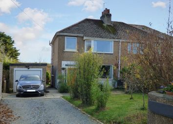Thumbnail 3 bed semi-detached house for sale in Station Road, Bere Ferrers, Yelverton