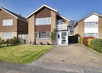 Thumbnail 3 bed detached house for sale in Dene Close, Horley, Surrey
