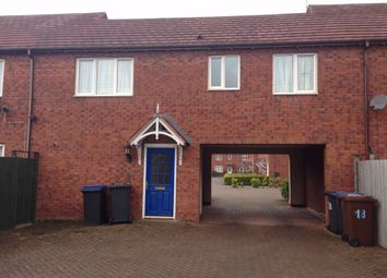 Thumbnail 1 bed flat to rent in Merry Hurst Place, Hinckley, Leicestershire