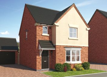 "Thumbnail 3 bed detached house for sale in ""The Quartz"" at Loughborough Road, Rothley, Leicester"