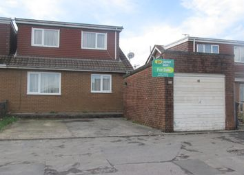 Thumbnail 3 bed semi-detached bungalow for sale in Raglan Grove, Castle Park, Merthyr Tydfil