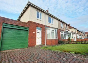 Thumbnail 3 bed semi-detached house for sale in Brixham Avenue, Low Fell, Gateshead