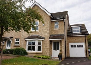 Thumbnail 4 bed semi-detached house for sale in Browning Close, Royston
