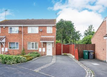 Thumbnail 3 bed semi-detached house for sale in Sallywood Close, Derby
