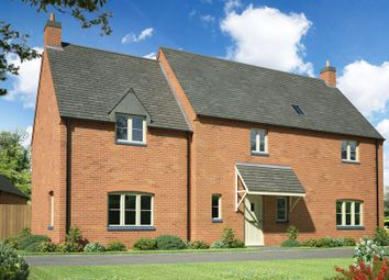 Thumbnail 4 bedroom detached house for sale in Northampton Road, West Haddon, Northampton