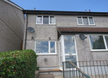 Thumbnail 1 bedroom flat for sale in Elford Crescent, Plympton, Plymouth