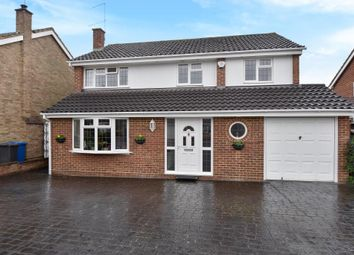 Thumbnail 4 bed detached house for sale in Lambourne Drive, Maidenhead