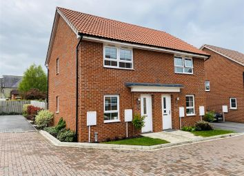 Thumbnail 2 bed semi-detached house for sale in Shire Green, Carlton, Goole
