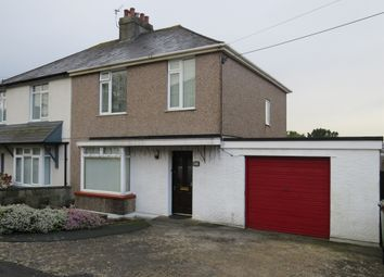 Thumbnail 3 bed semi-detached house for sale in Second Avenue, Billacombe, Plymouth