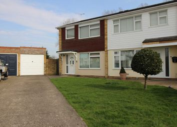 Thumbnail 3 bed semi-detached house for sale in Danbury Close, Marks Tey, Colchester