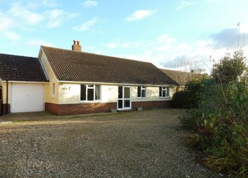 Thumbnail 3 bedroom detached bungalow for sale in Station Road, Great Moulton, Norwich