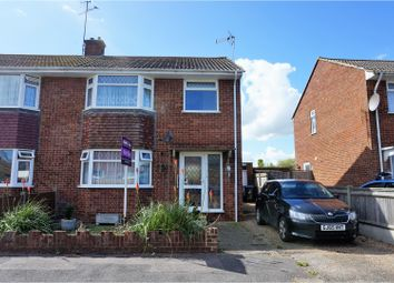 Thumbnail 3 bed semi-detached house for sale in Wantsume Lees, Sandwich