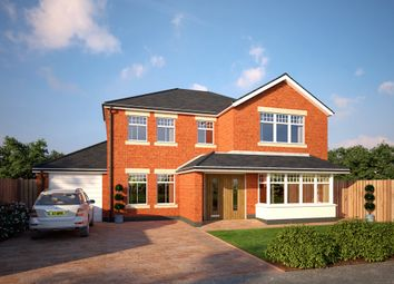 Thumbnail 4 bedroom detached house for sale in Sandfield Park, Heswall, Wirral