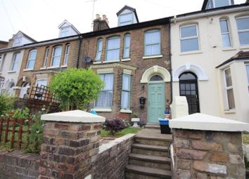 Thumbnail 4 bed terraced house for sale in Folkestone Road, Dover