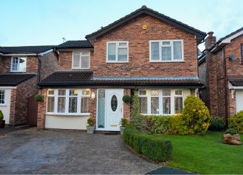 Thumbnail 4 bed detached house for sale in The Parchments, Newton-Le-Willows